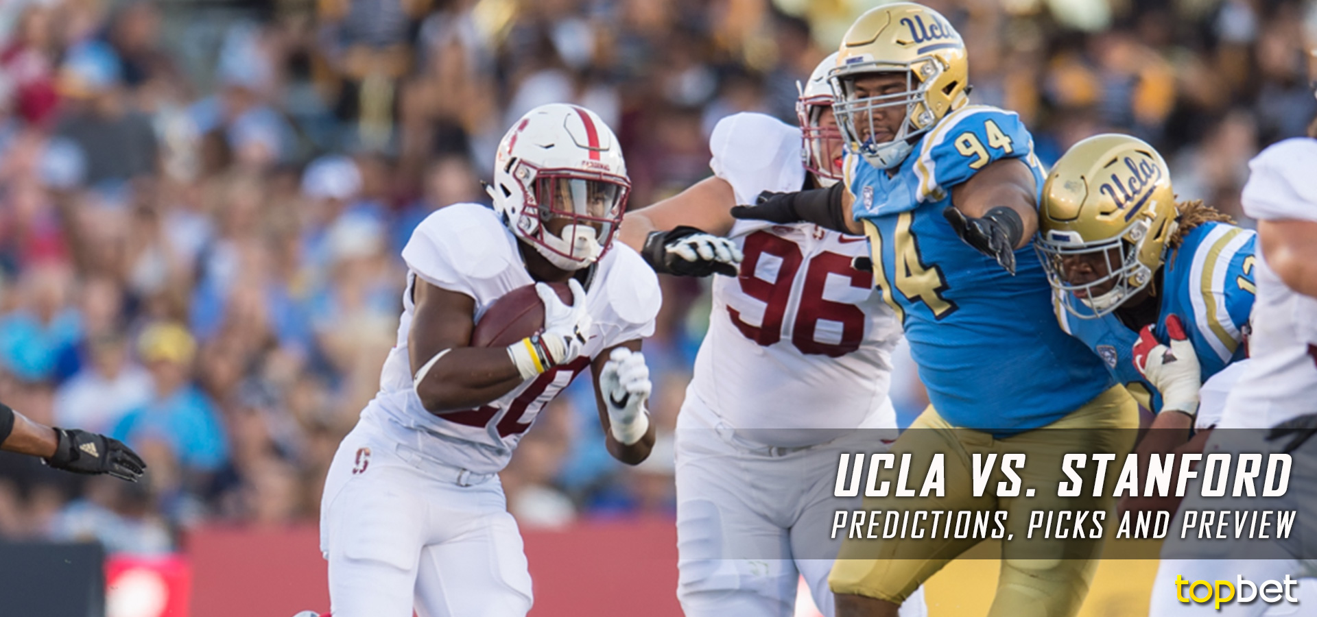 How To Bet The Bruins vs. Cardinal NCAA Football Odds & Game Info