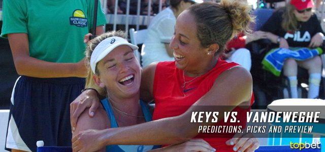 Madison Keys vs. Coco Vandeweghe Predictions, Odds, Picks, and Tennis Betting Preview – 2017 WTA US Open Semifinals