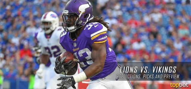 Detroit Lions vs. Minnesota Vikings Predictions, Odds, Picks and NFL Week 4 Betting Preview – October 1, 2017