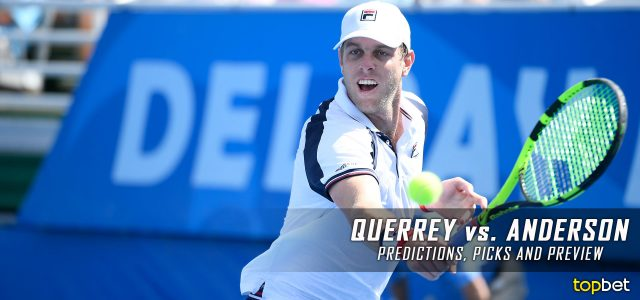 Sam Querrey vs. Kevin Anderson Predictions, Odds, Picks, and Tennis Betting Preview – 2017 US Open Quarterfinals Round