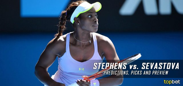 Sloane Stephens vs. Anastasija Sevastova Predictions, Odds, Picks, and Tennis Betting Preview – 2017 US Open Quarterfinals Round