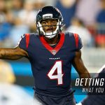 Bet on the Texans to Win Against the Bengals in their NFL Week 2 Game 2017