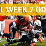 Denver Broncos vs Los Angeles Chargers Predictions, Picks, Odds and Betting Preview – NFL Week 7 2017