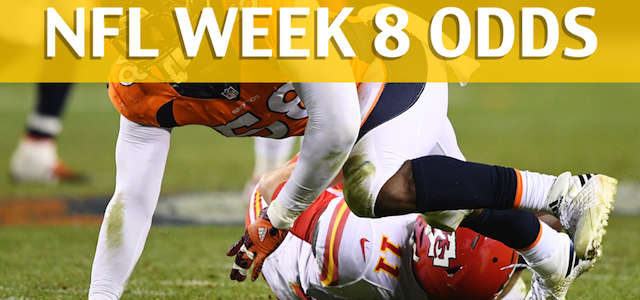 Denver Broncos vs Kansas City Chiefs Predictions, Picks, Odds and Betting Preview – NFL Week 8 2017