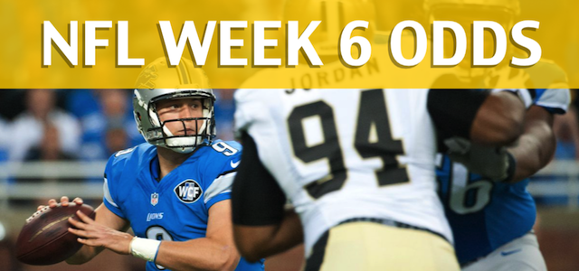 Detroit Lions vs New Orleans Saints Predictions, Picks, Odds and Betting Preview – NFL Week 6 2017