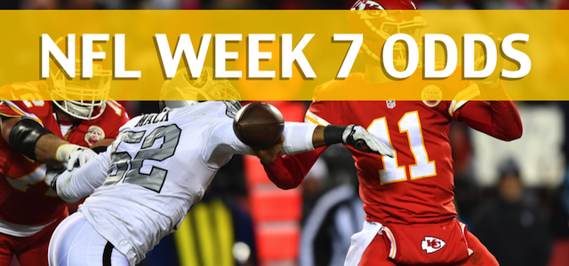 Kansas City Chiefs vs Oakland Raiders Predictions, Picks, Odds and Betting Preview – NFL Week 7 2017