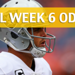 Los Angeles Chargers vs Oakland Raiders Predictions, Picks, Odds and Betting Preview – NFL Week 6 2017