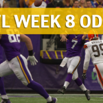 Minnesota Vikings vs Cleveland Browns Predictions, Picks, Odds and Betting Preview – NFL Week 8 2017