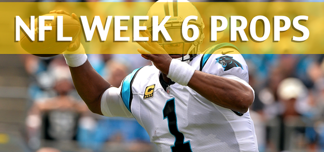 NFL Week 6 Prop Bets and Player Props: 2017-18 Season