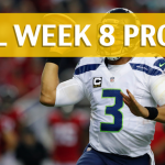 NFL Week 8 Prop Bets and Player Props: 2017-18 Season