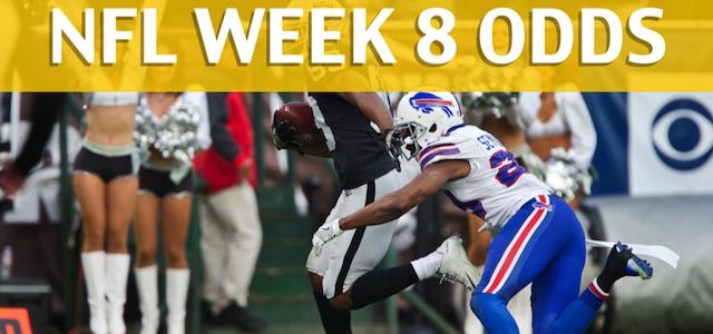 Oakland Raiders vs Buffalo BillsPredictions, Picks, Odds and Betting Preview – NFL Week 8 2017