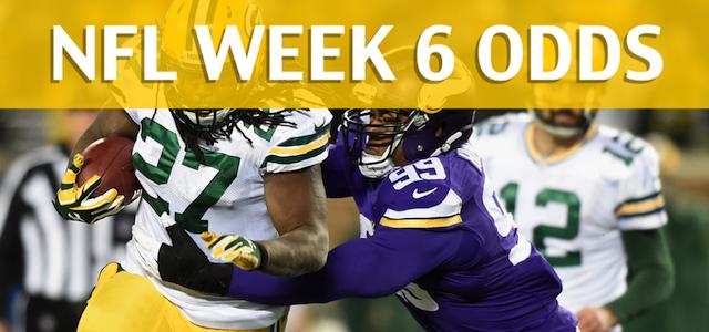 Green Bay Packers vs Minnesota Vikings Predictions, Picks, Odds and Betting Preview – NFL Week 6 2017