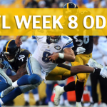 Pittsburgh Steelers vs Detroit Lions Predictions, Picks, Odds and Betting Preview – NFL Week 8 2017