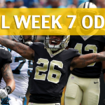 New Orleans Saints vs Green Bay Packers Predictions, Picks, Odds and Betting Preview – NFL Week 7 2017