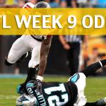 Atlanta Falcons vs Carolina Panthers Predictions, Picks, Odds and Betting Preview – NFL Week 9 2017