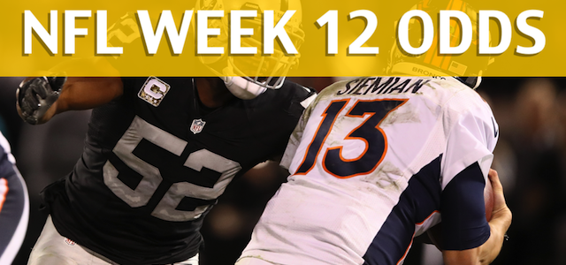 Denver Broncos vs Oakland Raiders Predictions, Picks, Odds and Betting Preview – NFL Week 12 2017