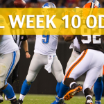 Cleveland Browns vs Detroit Lions Predictions, Picks, Odds and Betting Preview – NFL Week 10 2017
