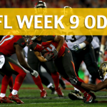 Tampa Bay Buccaneers vs New Orleans Saints Predictions, Picks, Odds and Betting Preview – NFL Week 9 2017