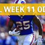 Buffalo Bills vs Los Angeles Chargers Predictions, Picks, Odds and Betting Preview – NFL Week 11 2017