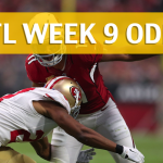 Arizona Cardinals vs San Francisco 49ers Predictions, Picks, Odds and Betting Preview – NFL Week 9 2017