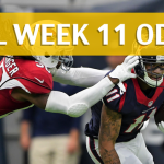 Arizona Cardinals vs Houston Texans Predictions, Picks, Odds and Betting Preview – NFL Week 11 2017