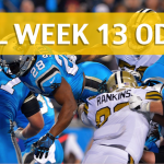 Carolina Panthers vs New Orleans Saints Predictions, Picks, Odds and Betting Preview - NFL Week 13 2017