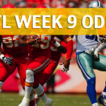 Kansas City Chiefs vs Dallas Cowboys Predictions, Picks, Odds and Betting Preview - NFL Week 9 2017