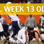 Cleveland Browns vs Los Angeles Chargers Predictions, Picks, Odds and Betting Preview – NFL Week 13 2017