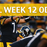 Green Bay Packers vs Pittsburgh Steelers Predictions, Picks, Odds and Betting Preview – NFL Week 12 2017