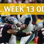 Houston Texans vs Tennessee Titans Predictions, Picks, Odds and Betting Preview – NFL Week 13 2017