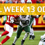 Kansas City Chiefs vs New York Jets Predictions, Picks, Odds and Betting Preview - NFL Week 13 2017