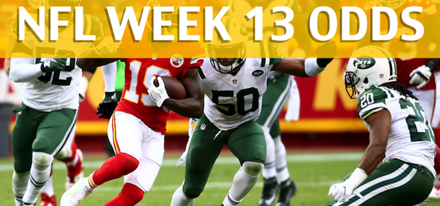 Kansas City Chiefs vs New York Jets Predictions, Picks, Odds and Betting Preview – NFL Week 13 2017