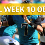 Los Angeles Chargers vs Jacksonville Jaguars Predictions, Picks, Odds and Betting Preview – NFL Week 10 2017