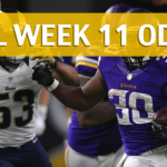 Los Angeles Rams vs Minnesota Vikings Predictions, Odds, Picks and Betting Preview – NFL Week 11 2017