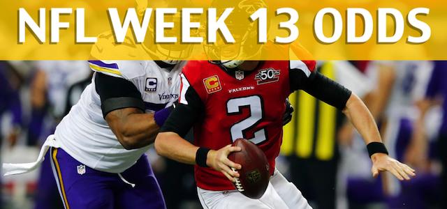 Minnesota Vikings vs Atlanta Falcons Predictions, Picks, Odds and Betting Preview – NFL Week 13 2017