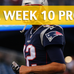 NFL Week 10 Prop Bets and Player Props: 2017-18 Season