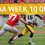 Ohio State Buckeyes vs Iowa Hawkeyes Predictions, Picks, Odds and Betting Preview – November 4, 2017