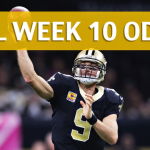 New Orleans Saints vs Buffalo Bills Predictions, Picks, Odds and Betting Preview – NFL Week 10 2017