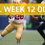 Seattle Seahawks vs San Francisco 49ers Predictions, Picks, Odds and Betting Preview - NFL Week 12 2017