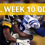 Pittsburgh Steelers vs Indianapolis Colts Predictions, Picks, Odds and Betting Preview – NFL Week 10 2017