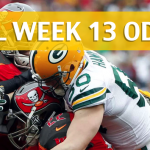 Tampa Bay Buccaneers vs Green Bay Packers Predictions, Picks, Odds and Betting Preview – NFL Week 13 2017