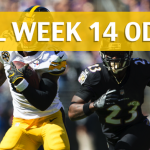 Baltimore Ravens vs Pittsburgh Steelers Predictions, Picks, Odds and Betting Preview – NFL Week 14 2017