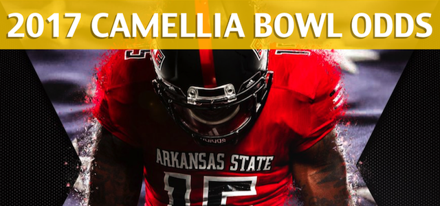 Arkansas State Red Wolves vs Middle Tennessee Blue Raiders – Camellia Bowl Predictions, Picks, Odds and Betting Preview – December 16, 2017