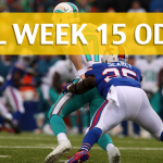 Miami Dolphins vs Buffalo Bills Predictions, Picks, Odds and Betting Preview – NFL Week 15 2017