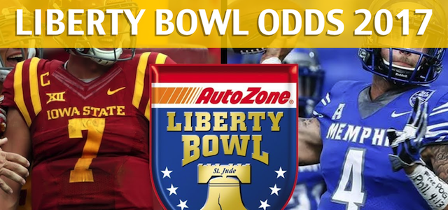 Iowa State Cyclones vs. Memphis Tigers – Liberty Bowl Predictions, Picks, Odds and Betting Preview – December 30, 2017