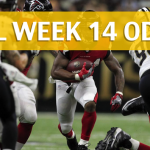 New Orleans Saints vs Atlanta Falcons Predictions, Picks, Odds and Betting Preview – NFL Week 14 2017