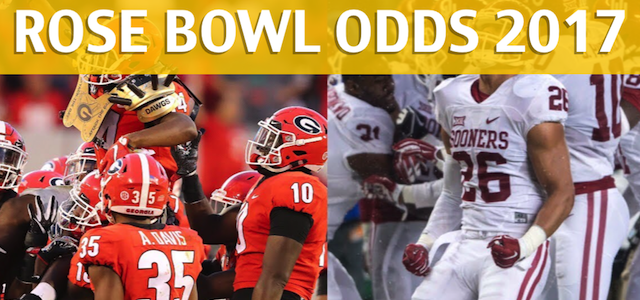 Georgia Bulldogs vs Oklahoma Sooners – Rose Bowl Predictions, Picks, Odds and Betting Preview – January 1 2018