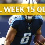 Tennessee Titans vs San Francisco 49ers Predictions, Picks, Odds and Betting Preview – NFL Week 15 2017