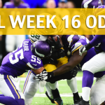 Minnesota Vikings vs Green Bay Packers Predictions, Picks, Odds and Betting Preview – NFL Week 16 2017