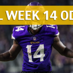 Minnesota Vikings vs Carolina Panthers Predictions, Picks, Odds and Betting Preview – NFL Week 14 2017